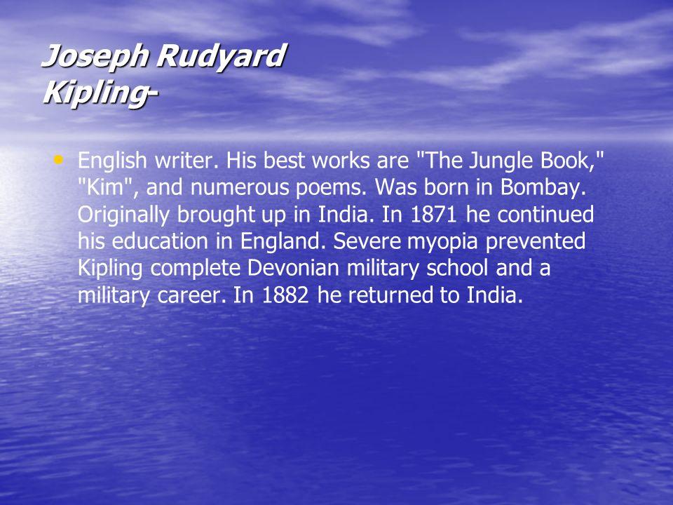rudyard kipling the best works