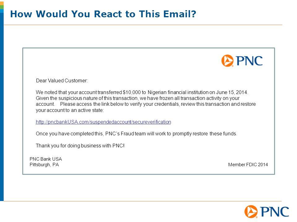 Pnc Bank Phishing Text