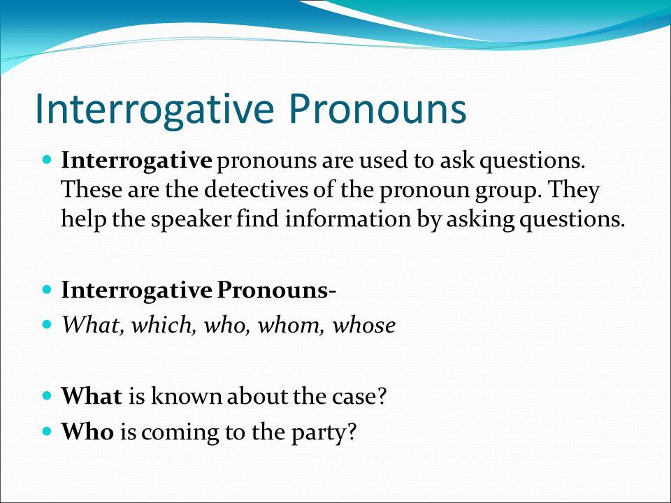 interrogative pronouns examples - 960×720