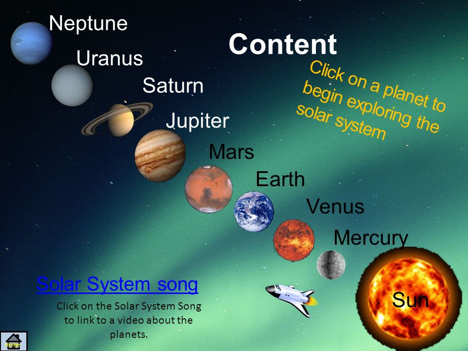 Exploring Outer Space By Cassandra Heftel Home Content Solar System