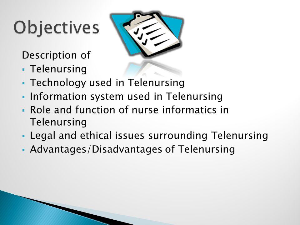 telenursing definition