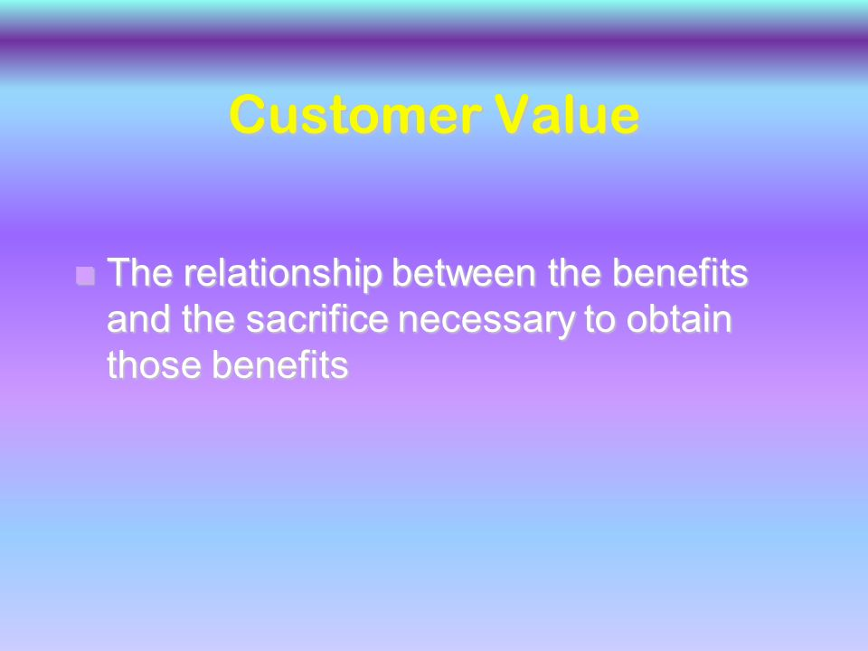 Customer Satisfaction n Customers' evaluation of a product or service in terms of whether it has met their needs and expectations.