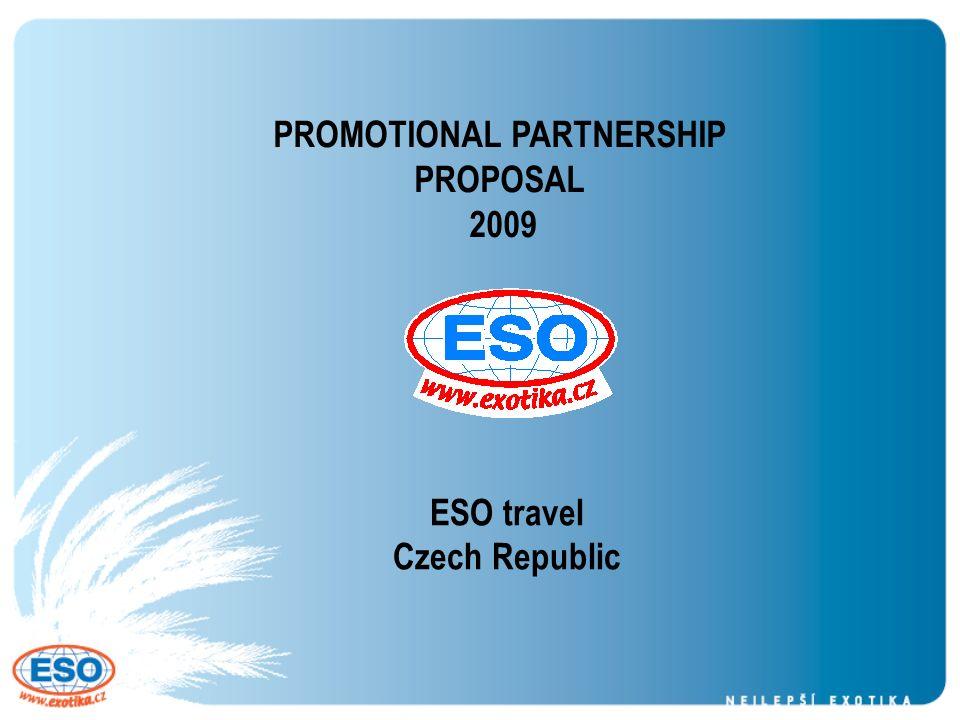 ESO travel Czech Republic PROMOTIONAL PARTNERSHIP PROPOSAL ppt download