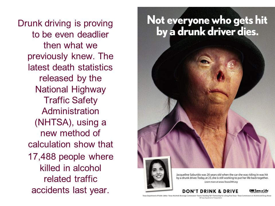 Drunk driving is proving to be even deadlier then what we previously knew.