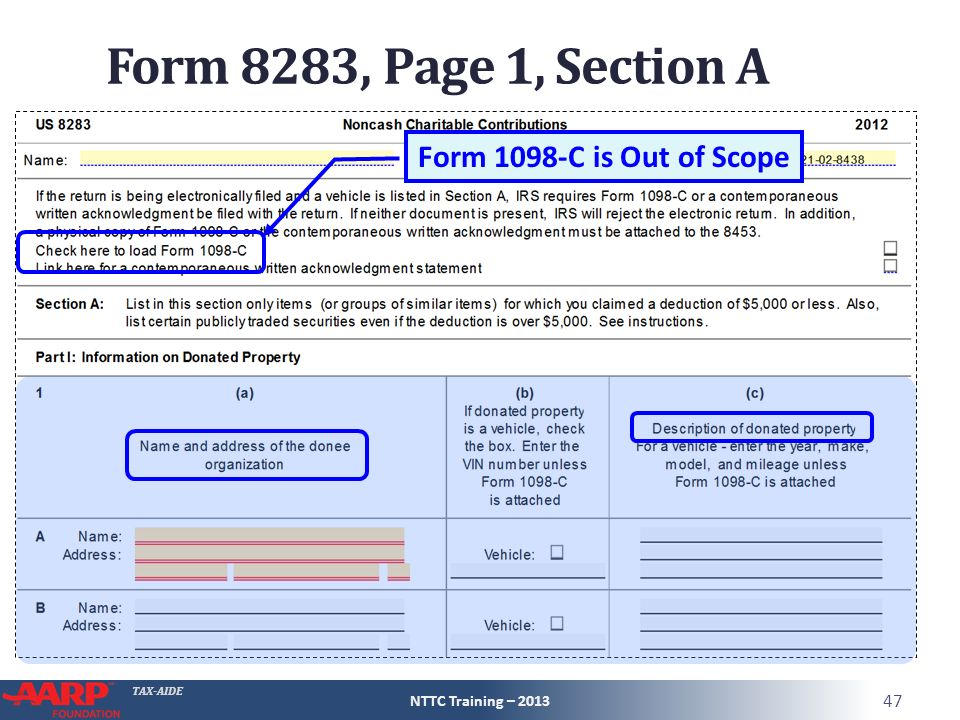 Tax Aide Itemized Deductions Tax Computation Form 1040sch A Pub