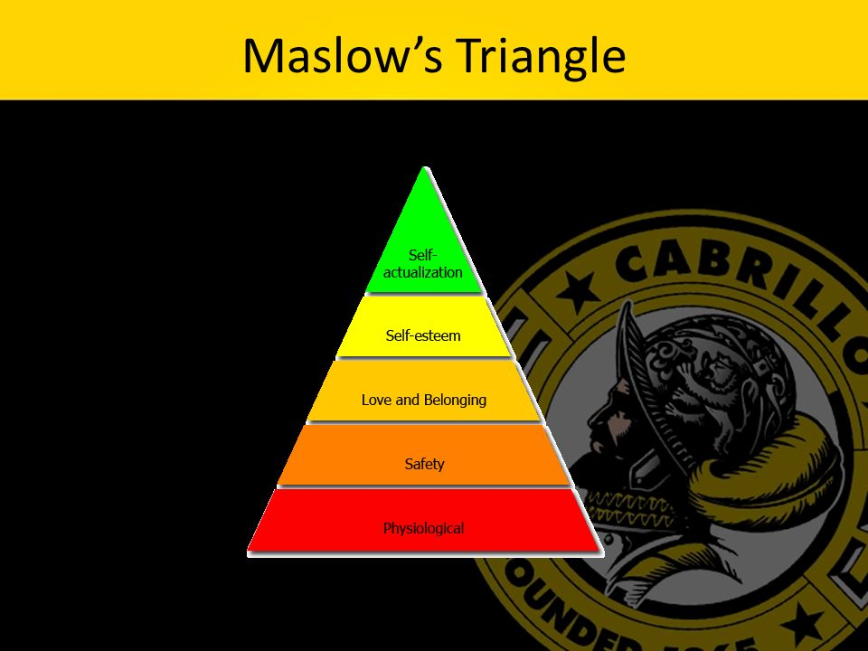Maslow's Triangle