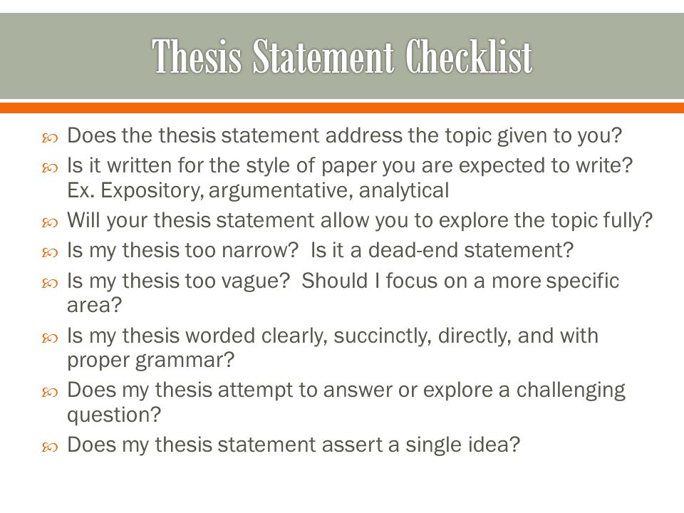  1. Determine the essay or research paper's topic.