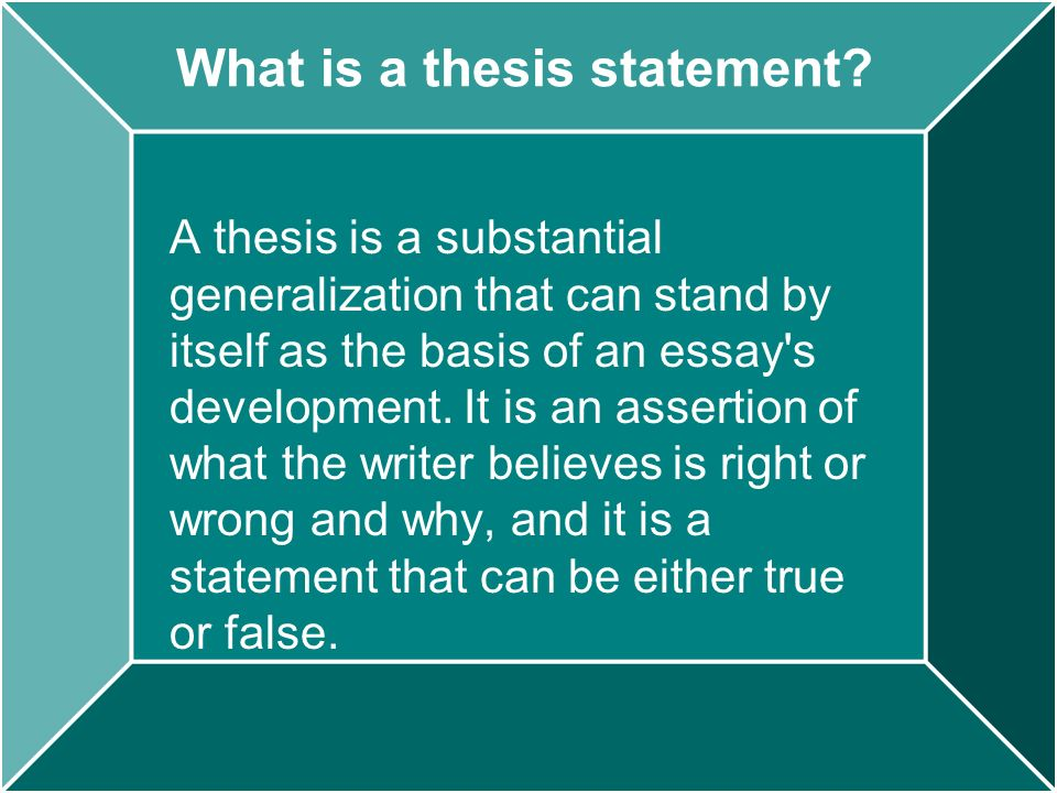 how to write a thesis for a comparativeanalytical essay