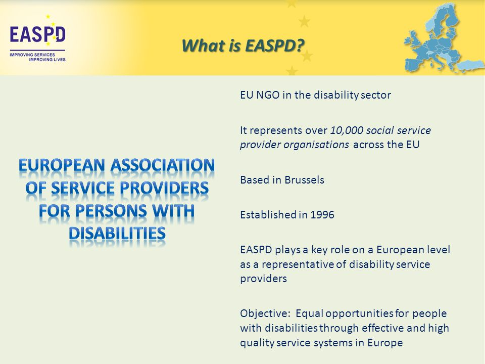 What is EASPD.