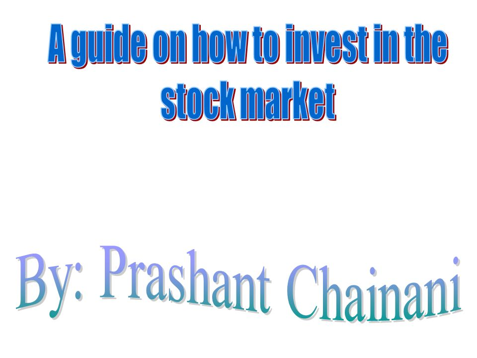 A Stock Is That A Stock Is A Certificate That Shows You Own A Small