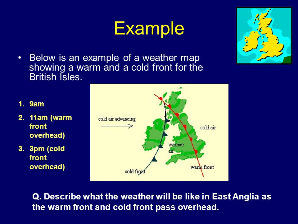 What Factors Affect Britain S Climate 1 Rainfall Relief Frontal