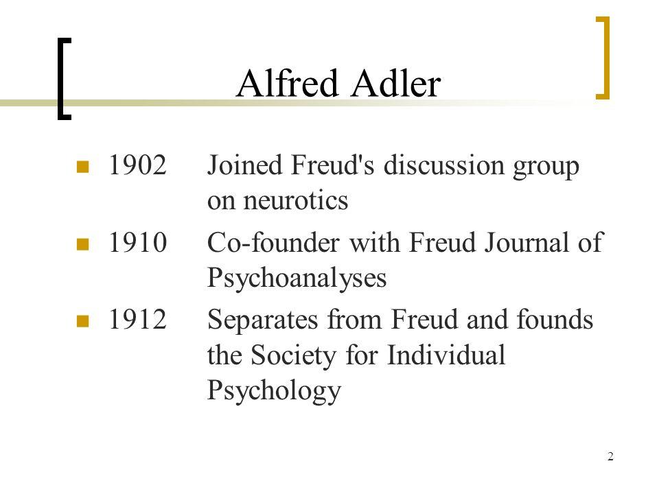 alfred adler individual psychology