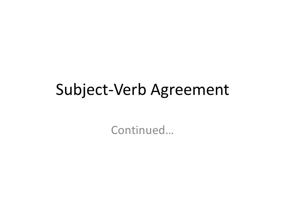 Subject Verb Agreement Continued With Subjects Joined With Or Or