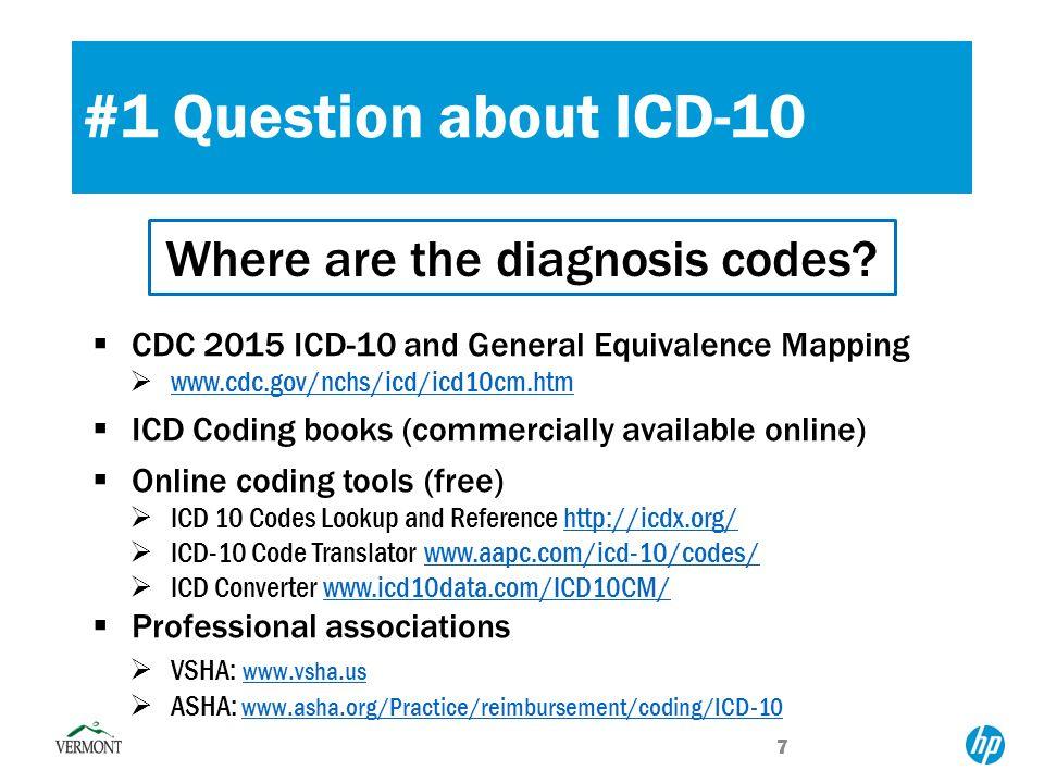 asha icd 10 codes