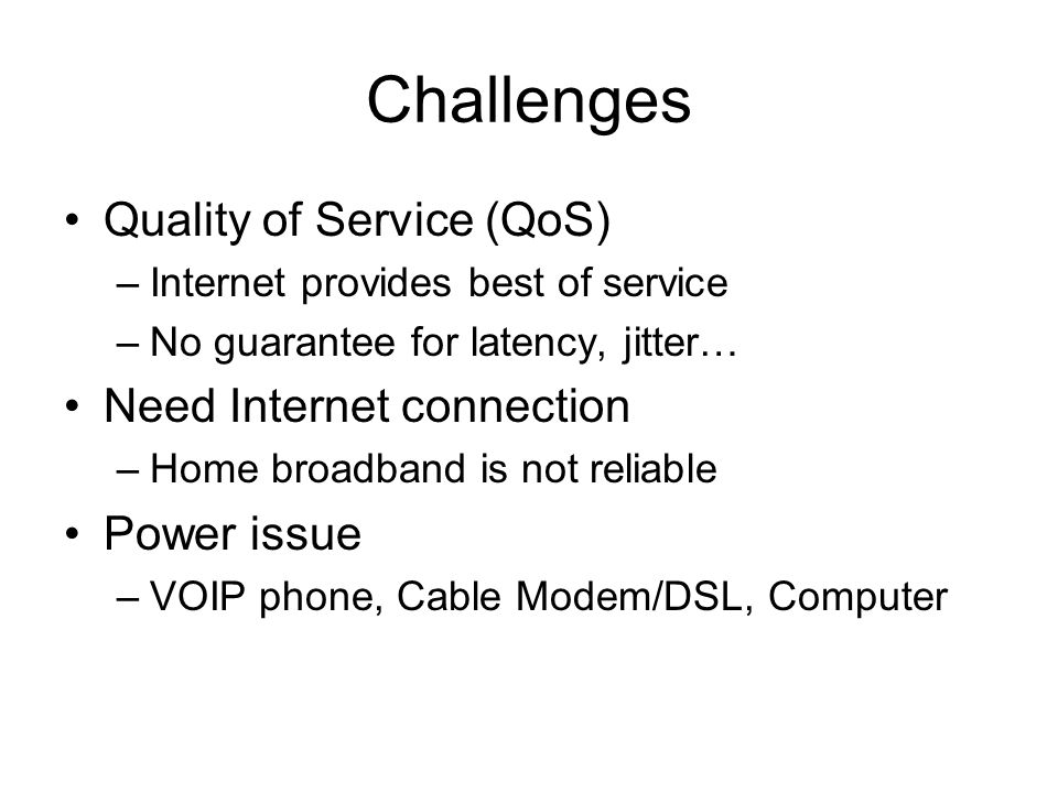 VOIP (Voice Over Internet Protocol) CDA 4527 Fall ppt download