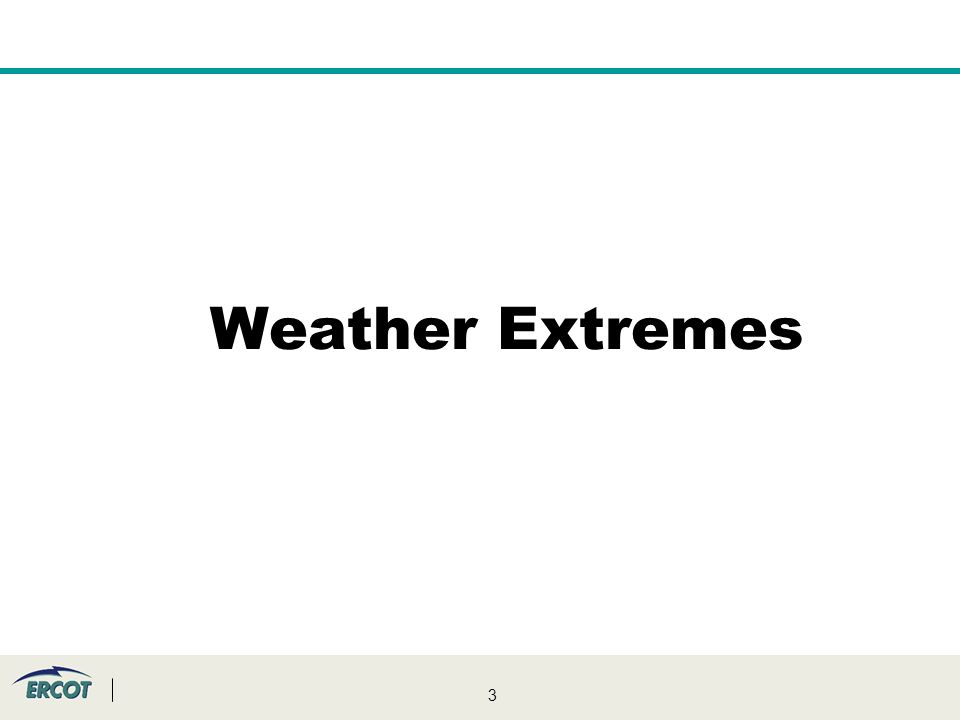 3 Weather Extremes
