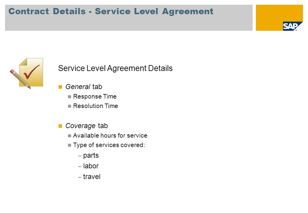 Contents Service Process Service Contracts Equipment Card Service