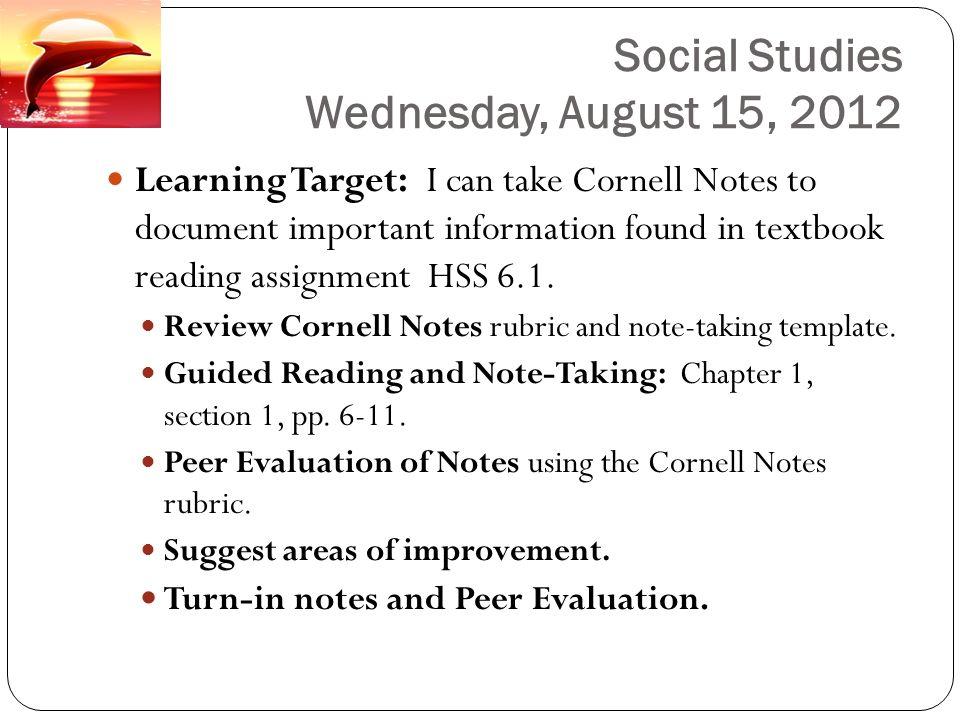 August 13 – 17, 2012 Dr. Harper\'s Plans & Agendas Language Arts ...