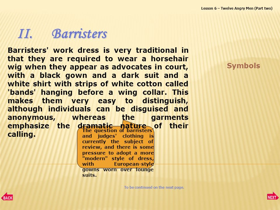I Judgesjudges Ii Barristersbarristers Iiiurt Working Dresses