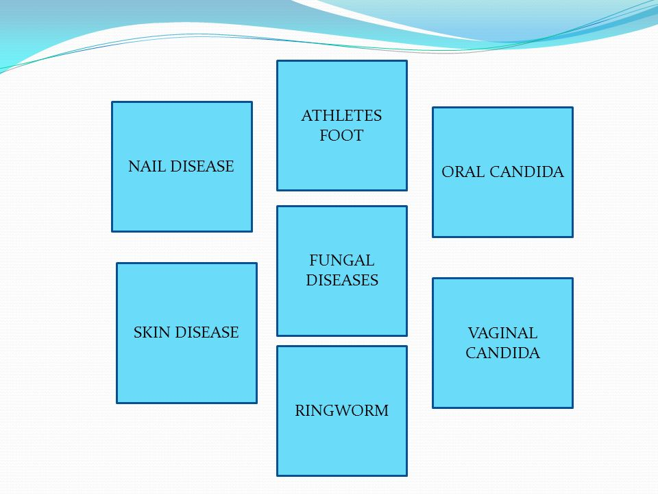 FUNGAL DISEASES ATHLETES FOOT ORAL CANDIDA VAGINAL CANDIDA RINGWORM SKIN DISEASE NAIL DISEASE