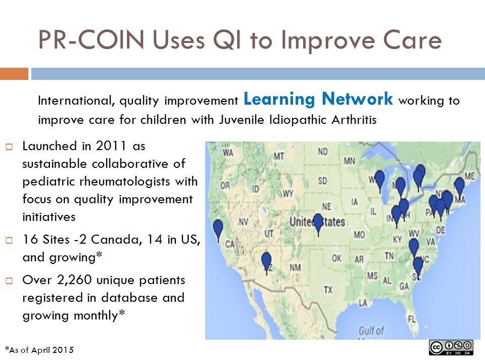 Leading Quality Improvements in Pediatric Rheumatology Care A