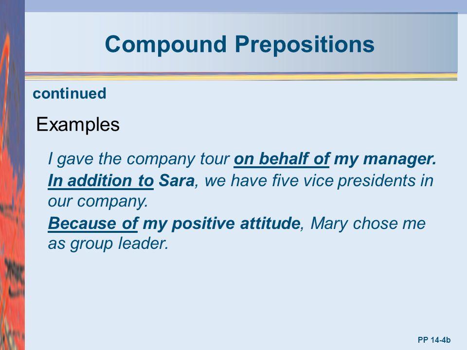 English preposition.