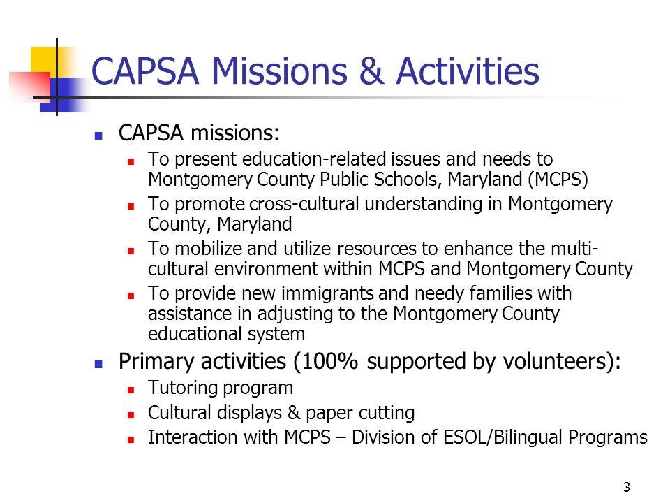 Capsa Coordinator Volunteer Orientation May 14 Ppt Download