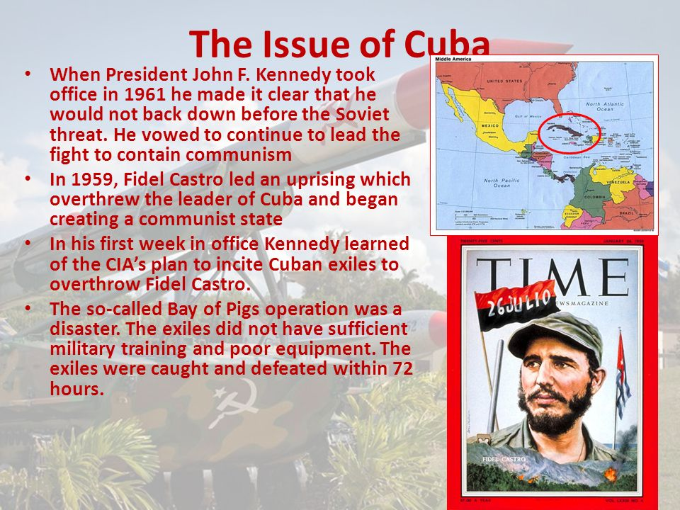 The Issue of Cuba When President John F.