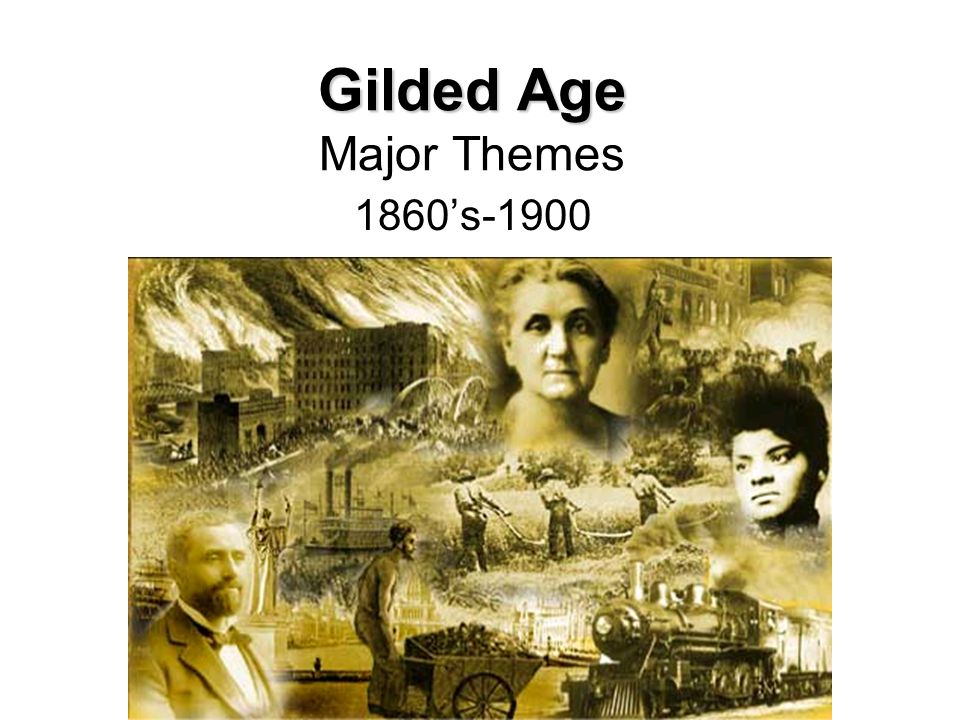 gilded age themes