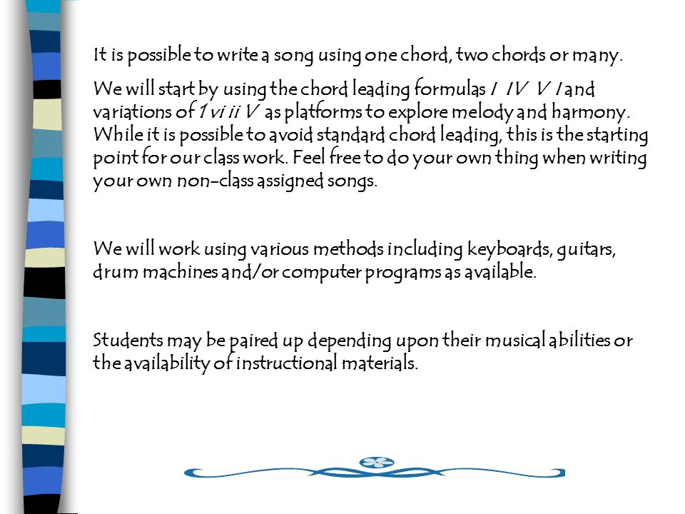 Songwriting An Introduction Welcome To Beginning Songwriting We