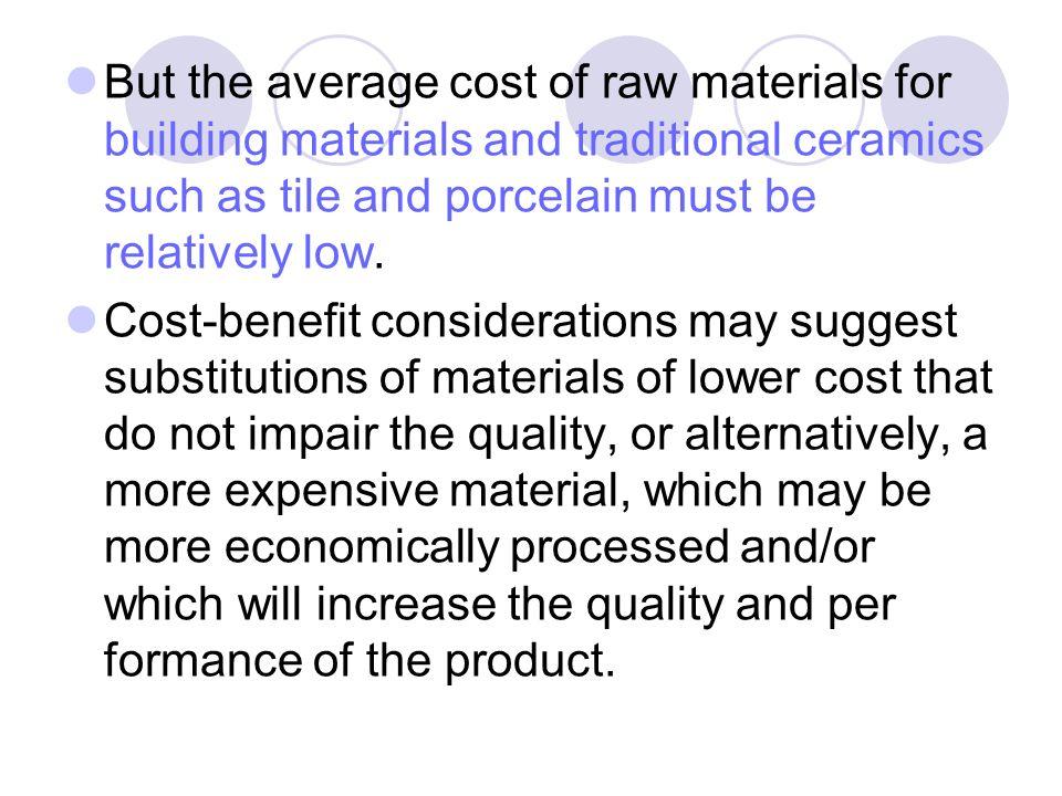 Ceramic Raw Materials In Studying Ceramics Processing It Is