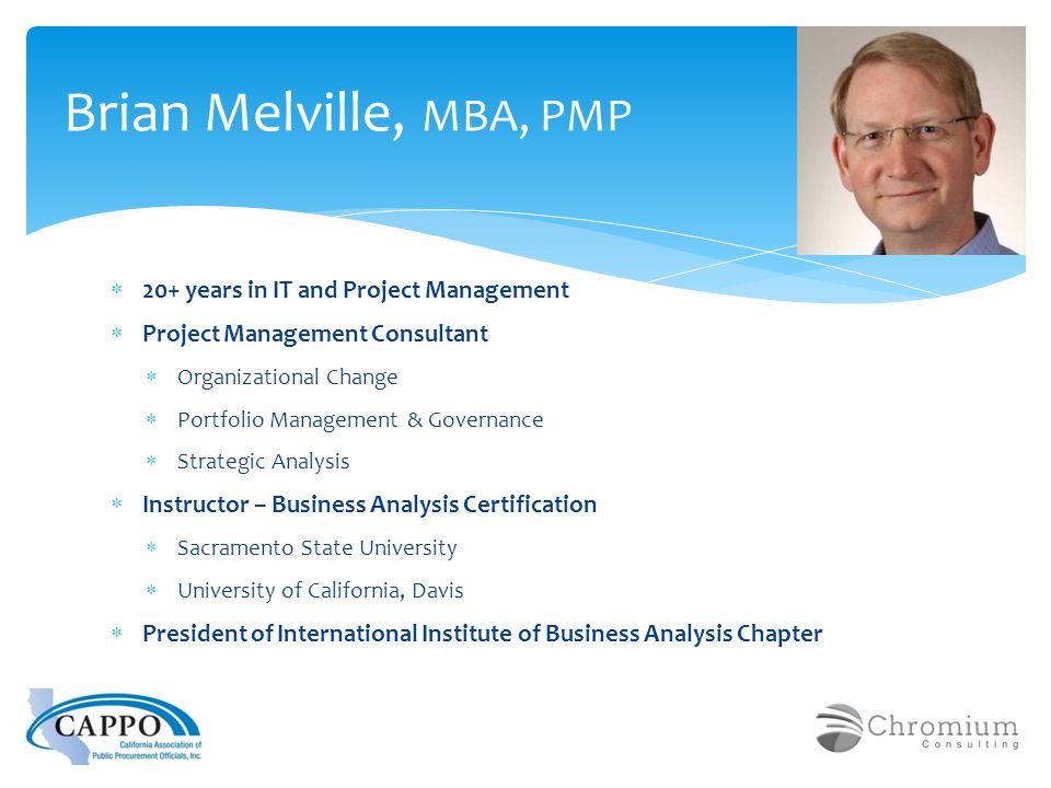 Understanding Project Management Brian Melville Pmp Cappo Nigp
