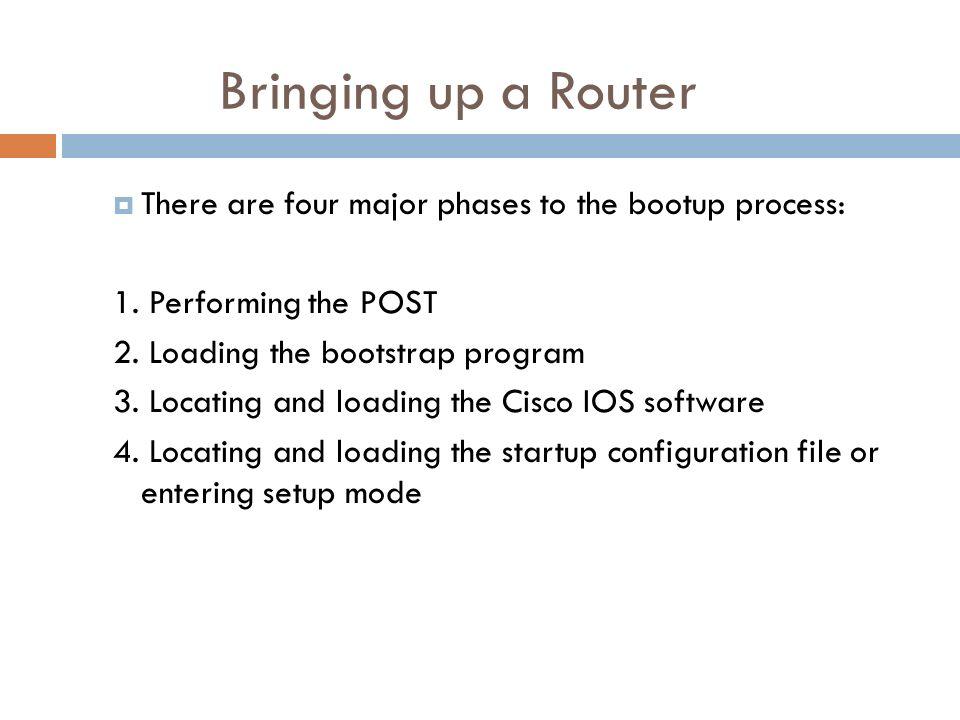 CISCO ROUTER   The Cisco router IOS  Enhanced editing
