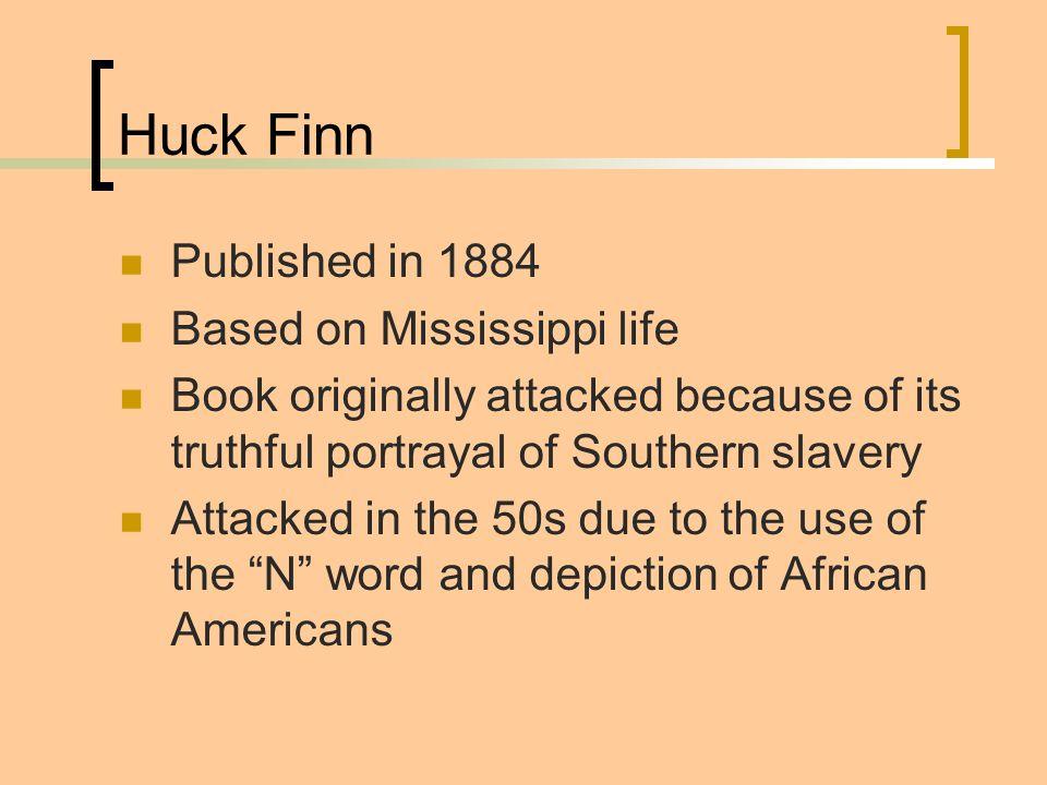background of huckleberry finn