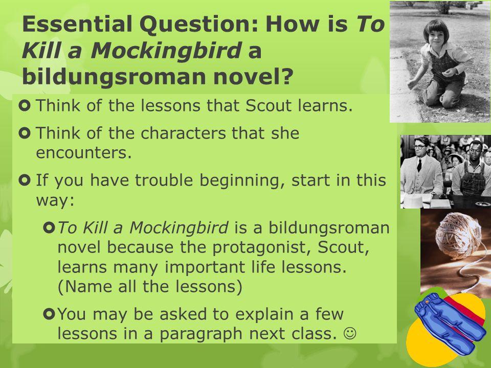 bildungsroman to kill a mockingbird