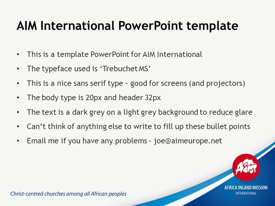 AIM International PowerPoint Template This Is A Template PowerPoint