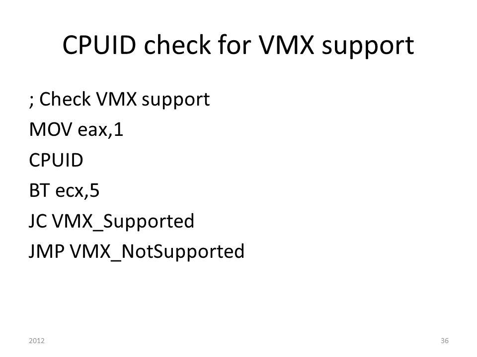 Advanced x86: Virtualization with VT-x Part 2 David