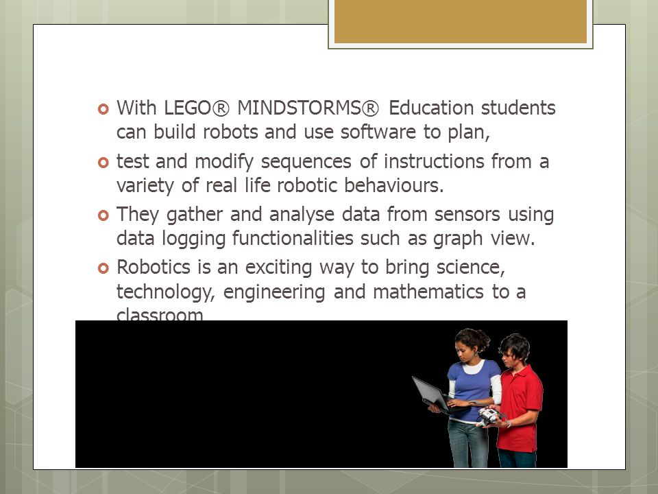 Lego Mindstorms Education Jenniffer Martnez Flores Ppt Download