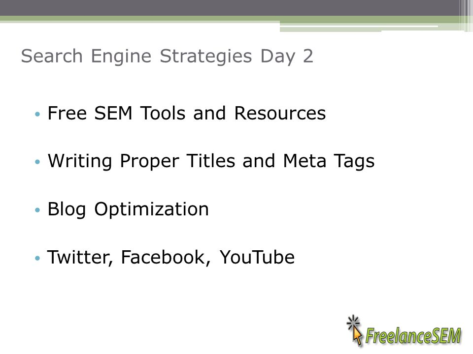 Search Engine Strategies Andre Jensen Follow me on - ppt download