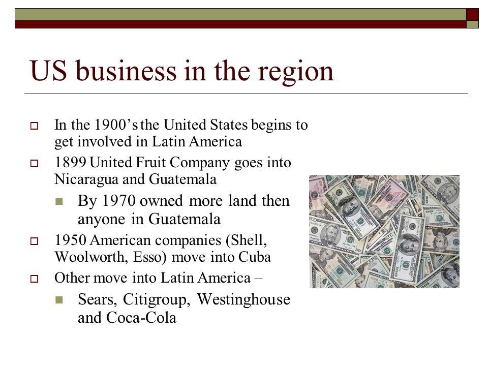 united fruit company in latin america