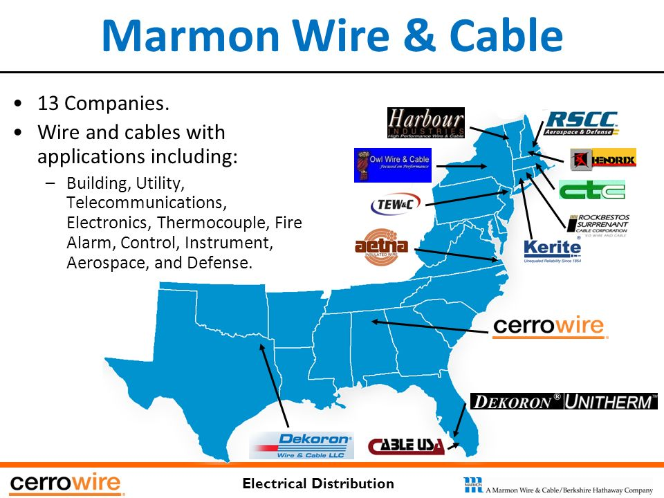 Electrical Distribution CAPABILITIES OVERVIEW. Electrical ...