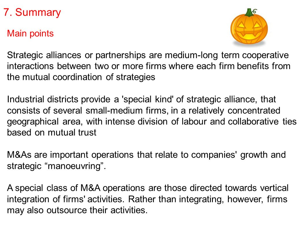 importance of strategic alliances in companys activity