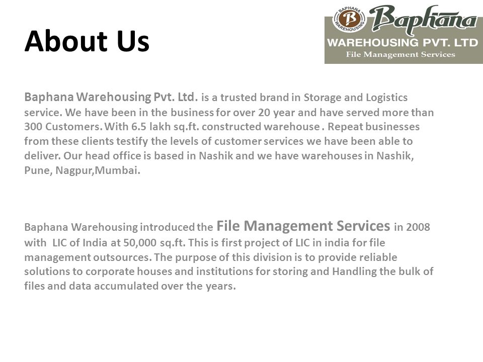 Welcome To Baphana's World  Presents An Effective Solution to Manage