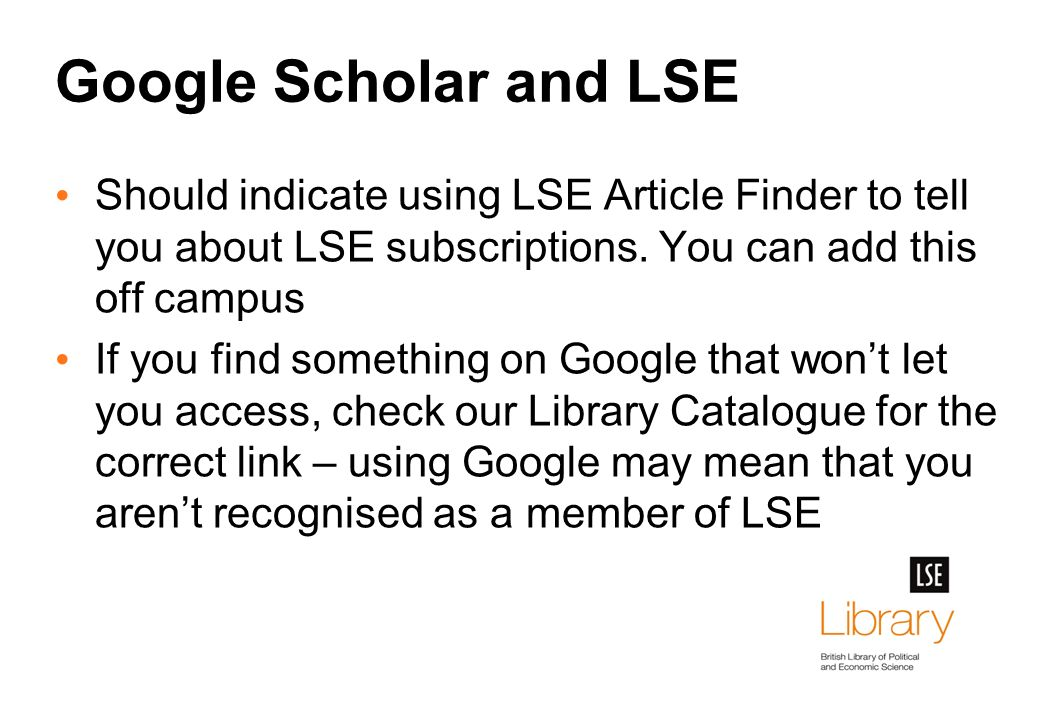 Literature Searching Tips & Techniques MSc Social Psychology