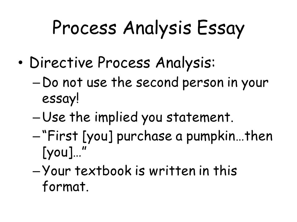 High School Essay Samples Process Analysis Essay Directive Process Analysis  Do Not Use The Second  Person In Your Examples Of Argumentative Thesis Statements For Essays also Health Care Essay Process Analysis Essay Answers The Following Questions  How Do I  Essay On Health Care