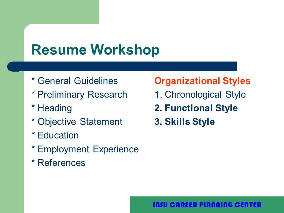 Purdue University Writing Lab Resume Workshop Ibsu Career Planning