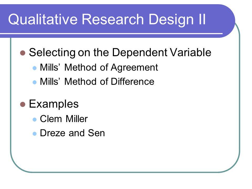 Political Science 30 Political Inquiry Qualitative Research Design