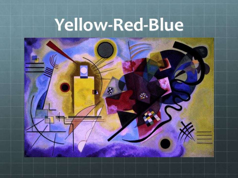 Yellow-Red-Blue