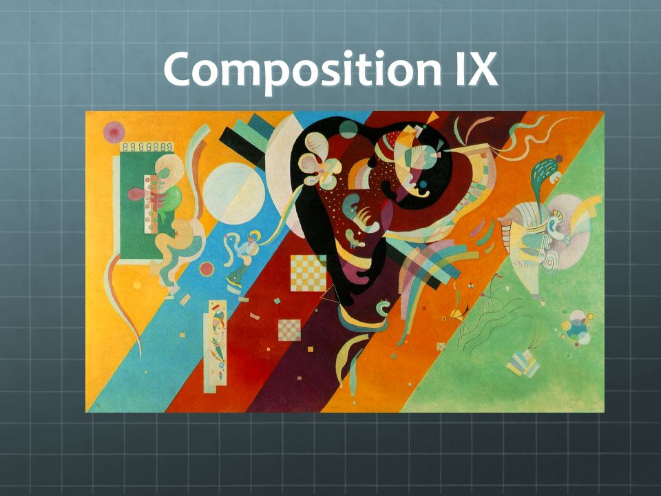 Composition IX