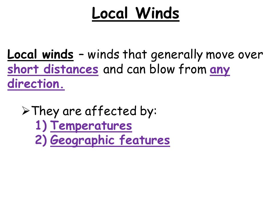 Why do global winds curve.